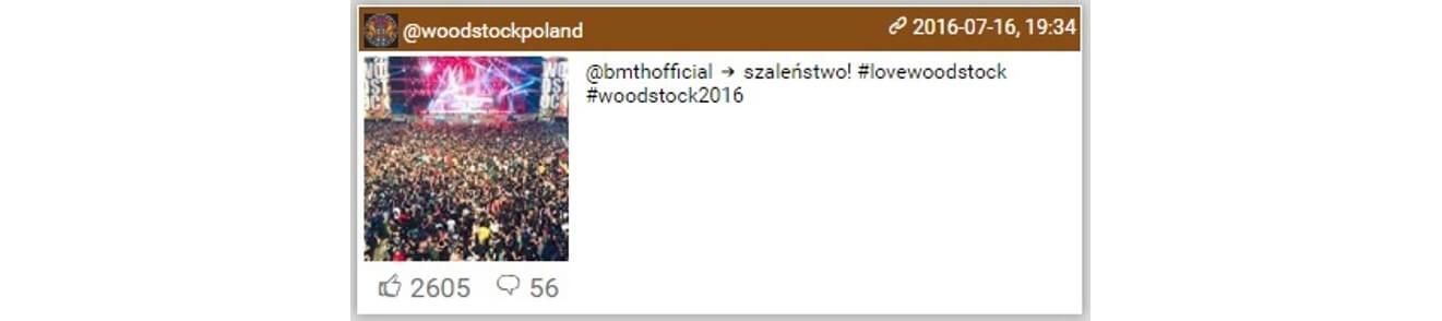 Woodstock na Instagramie_najbardziej komentowane_woodstockpoland1_14-16.07.2016_NapoleonCat