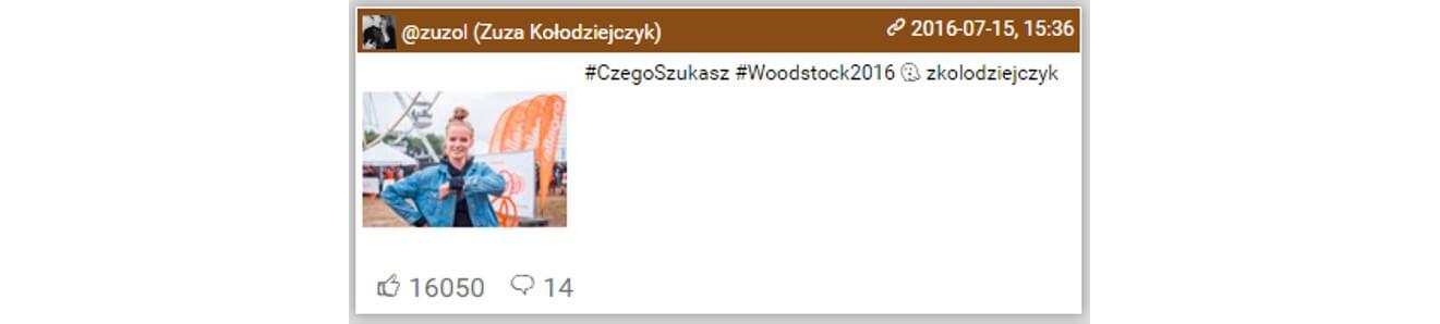 Woodstock na Instagramie_top10 najbardziej lubianych postow8_14-16.07.2016_NapoleonCat