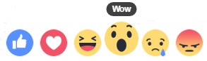 Facebook Reactions_NapoleonCat blog