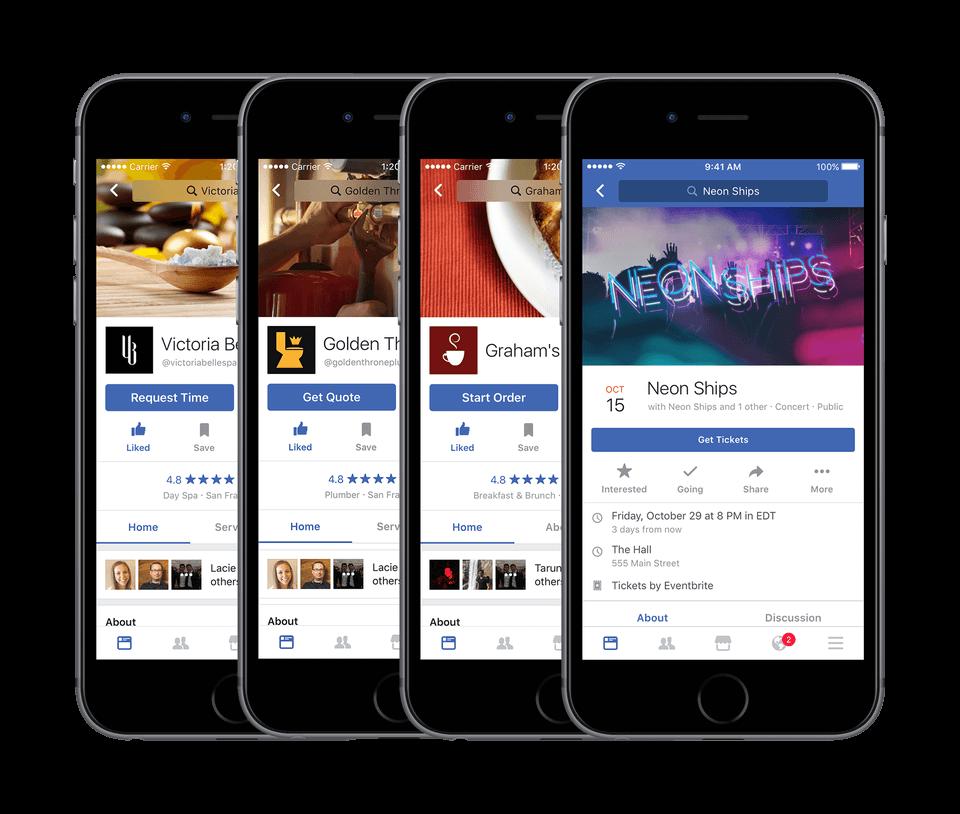 Nowe przyciski call to action na stronach lokalnych biznesow_Facebook_zmiany w mediach spolecznosciowych_NapoleonCat social media update