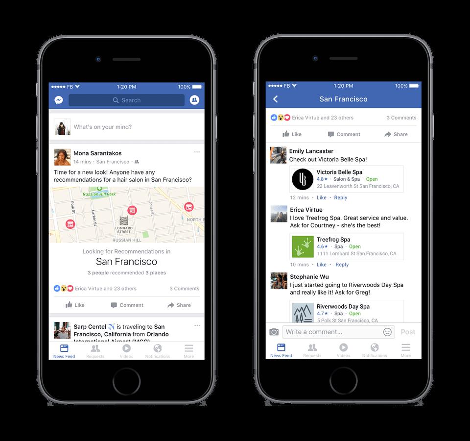 post do pozyskiwania rekomendacji_Facebook_zmiany w mediach społecznościowych_NapoleonCat social media update_20161024
