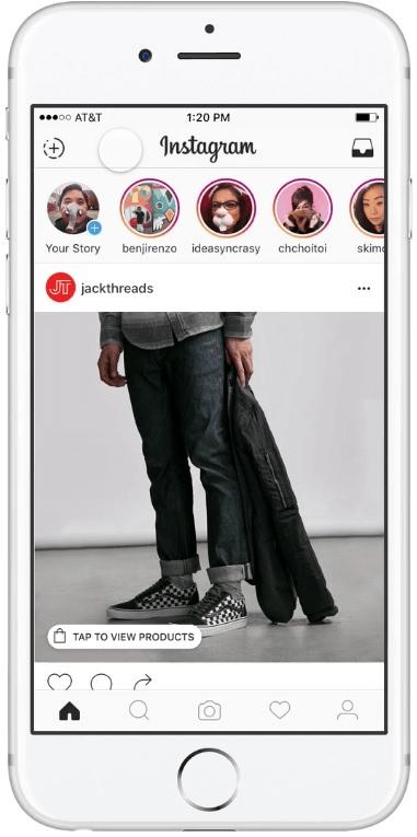 podglad produktow na Instagramie_nowe rozwiazania dla e-commerce na Instagramie_zmiany w social media NapoleonCat