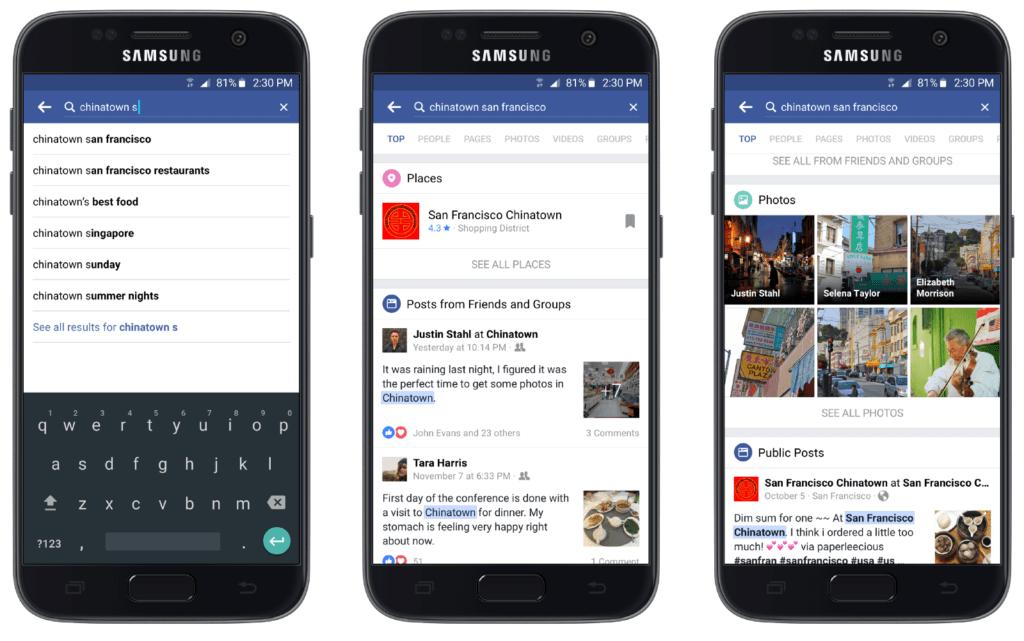 Facebook upraszcza wyszukiwarke_social media update w NapoleonCat