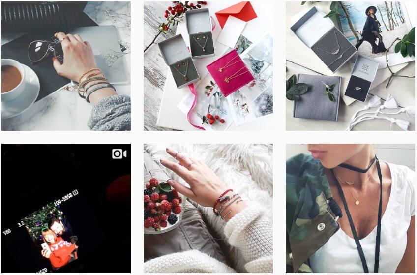 Ania Kruk na Instagramie_bizuteria na Instagramie_ranking NapoleonCat