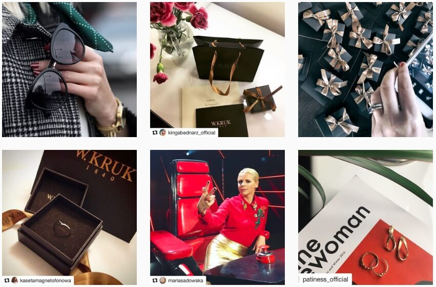 W_KRUK na Instagramie_bizuteria na Instagramie_ranking NapoleonCat