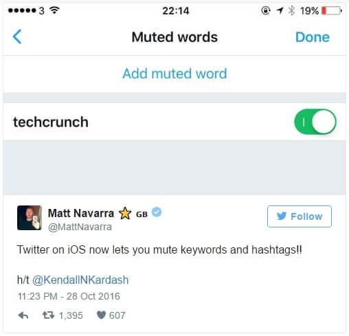 blokowanie wybranych slow w tweetach_muted words na Twitterze_nowosci i zmiany w mediach spolecznosciowych_social media update od NapoleonCat
