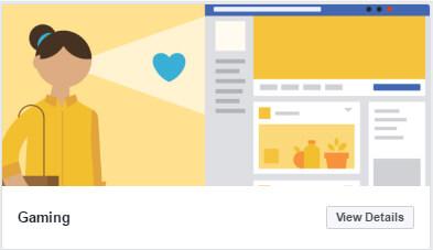 nowe szablony stron biznesowych na Facebooku_gaming_zmiany w social media_nowosci w mediach spolecznosciowych_NapoleonCat blog