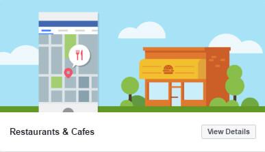 nowe szablony stron biznesowych na Facebooku_restaurants_cafes_zmiany w social media_nowosci w mediach spolecznosciowych_NapoleonCat blog