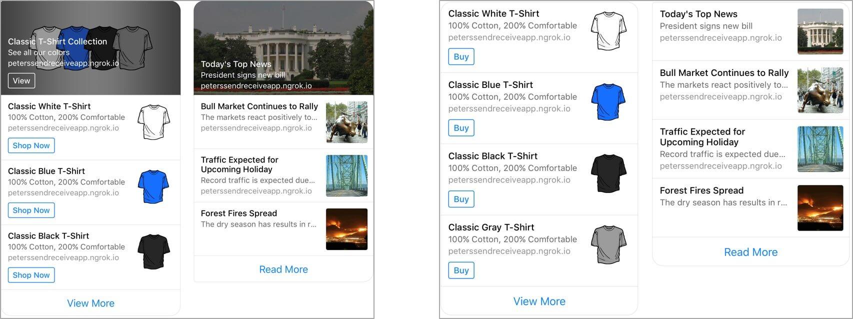 nowy szablon reklam w Messengerze Facebooka_zmiany w social mediach_nowosci w mediach spolecznosciowych_napoleonCat blog