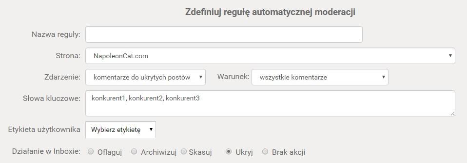 automatyczna-moderacja-tresci-na-Facebooku_definiowanie-reguly-automoderacji-w-NapoleonCat
