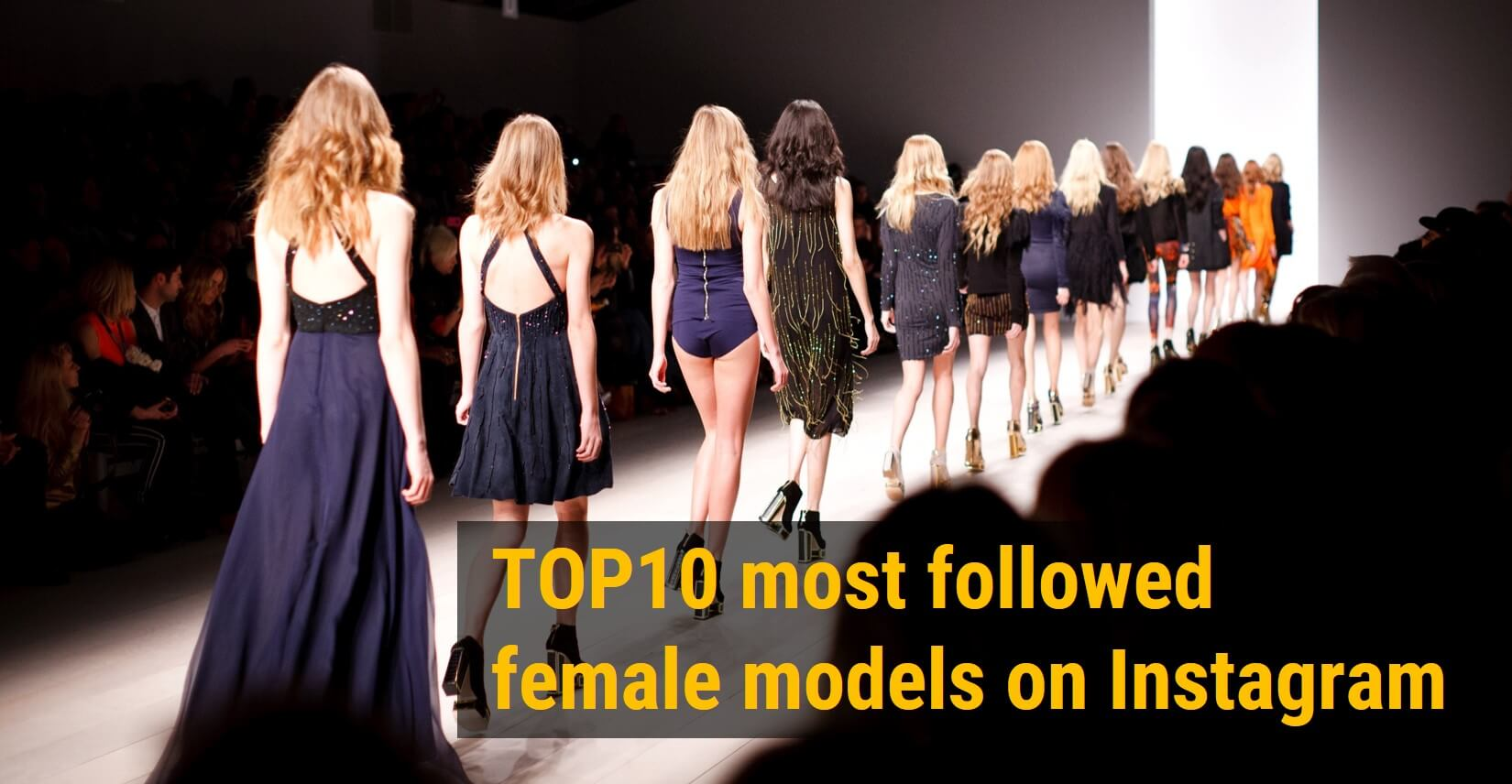Top10 Most Followed Female Models On Instagram Napoleoncat