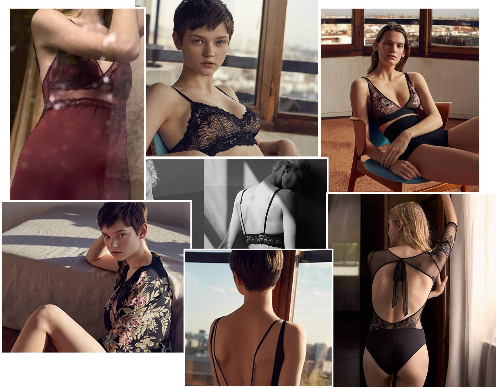 Oysho is one of the most liked lingerie brand on Facebook