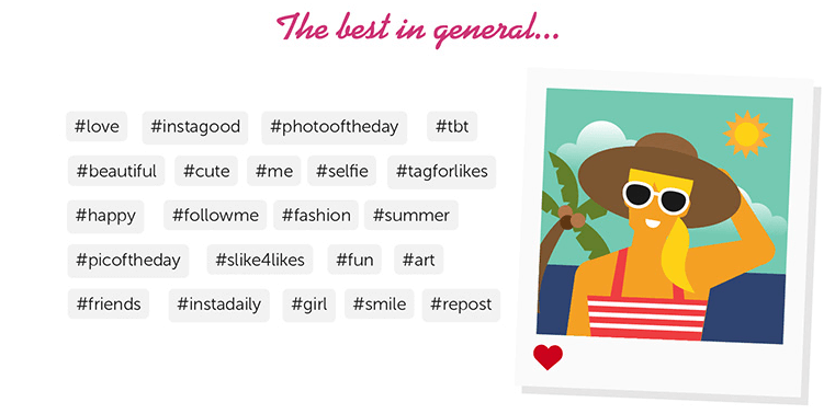 top hashtags on Instagram in general_websitebuilder.org