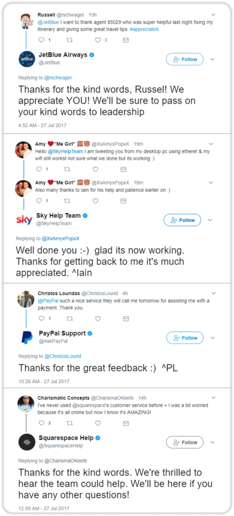 customer support, customer service in social media