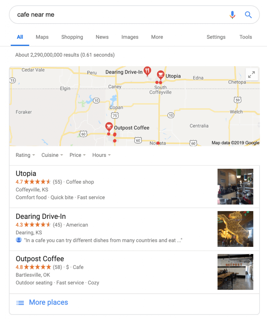 Google Reviews_local pack