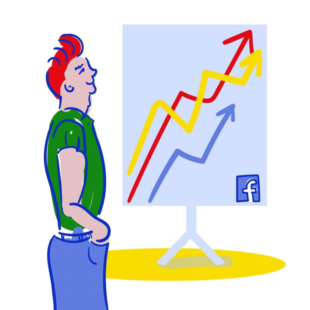 What is Facebook reach and how is it measured?