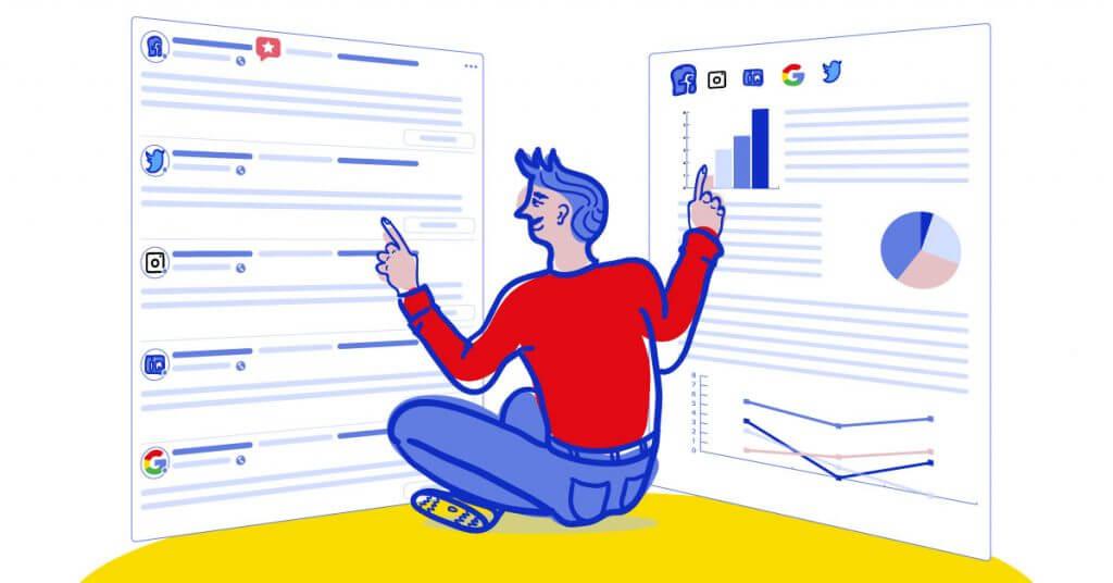 Narzędzia social media - NapoleonCat & Brand24