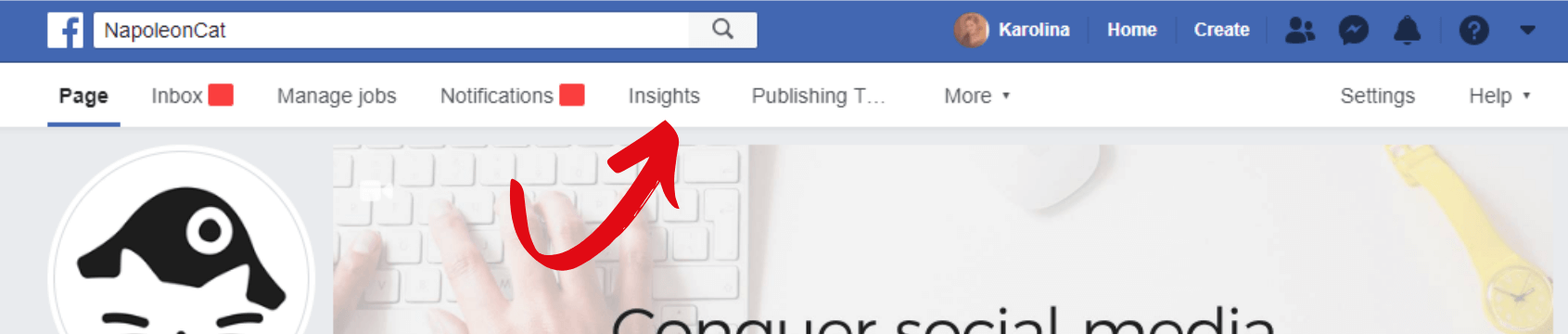 How to access Facebook Insights