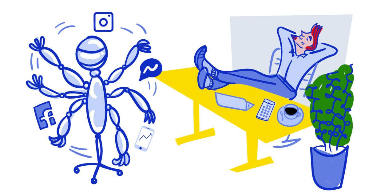 social media marketing automation