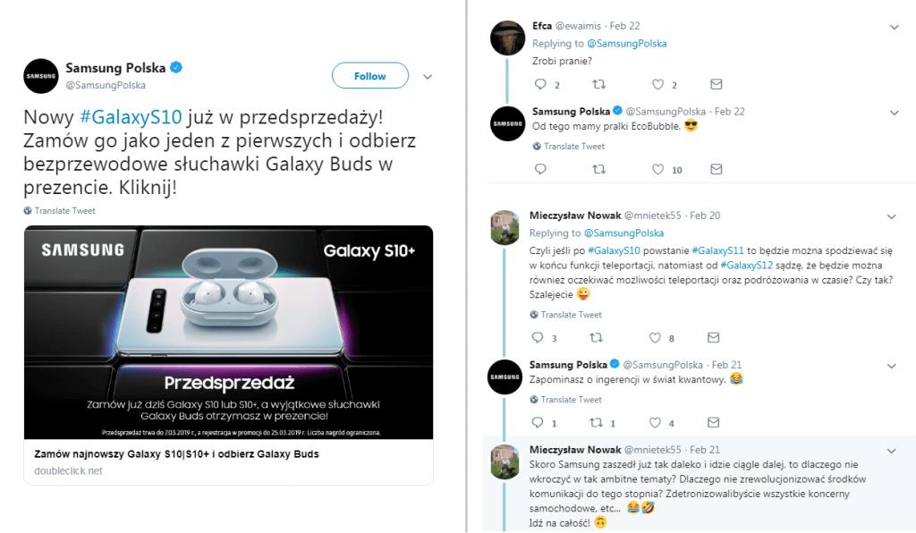 Obsługa klienta w social media_Samsung Polska