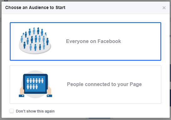 Facebook Audience Insights setup