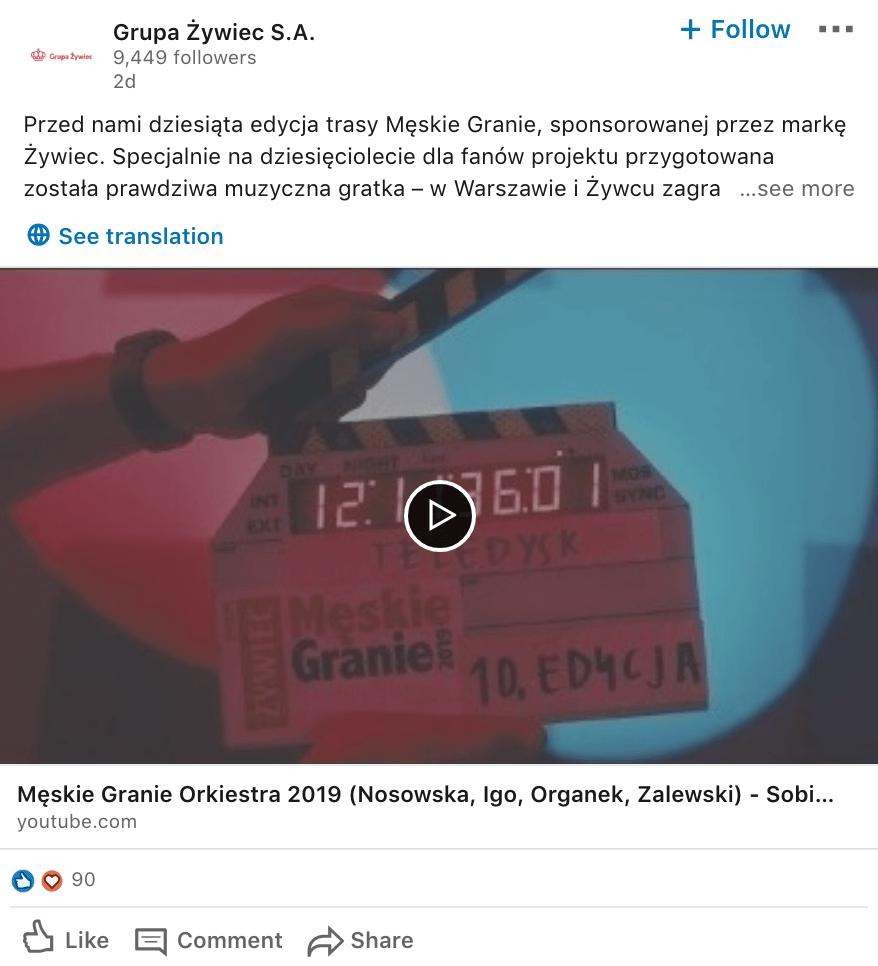 Strategia LinkedIn_GrupaŻywiec