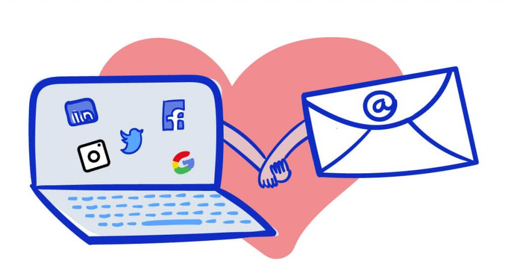 How to Combine Email and Social Media Marketing