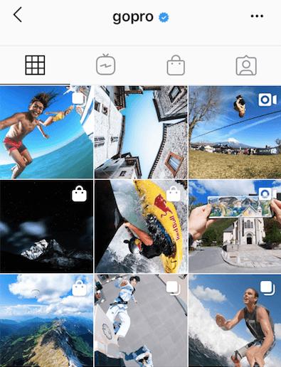 GoPro's Instagram UGC