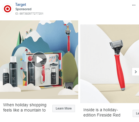 Instagram holiday ads
