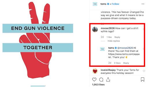 Instagram customer service