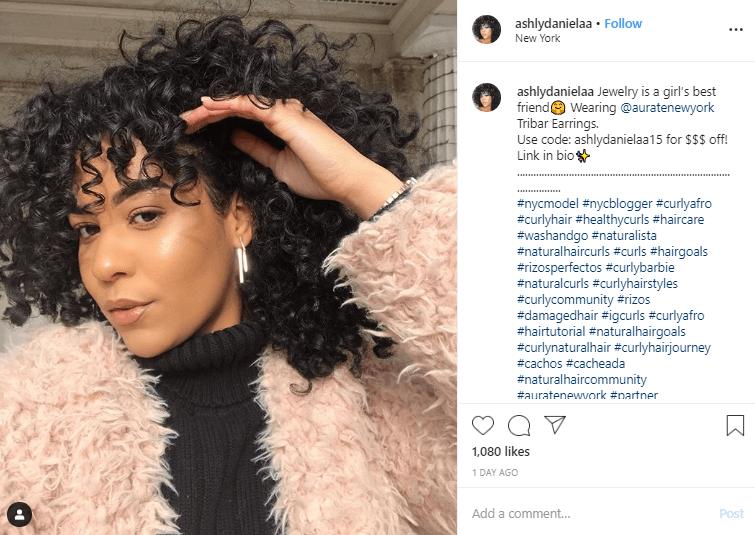 Instagram influencer campaign