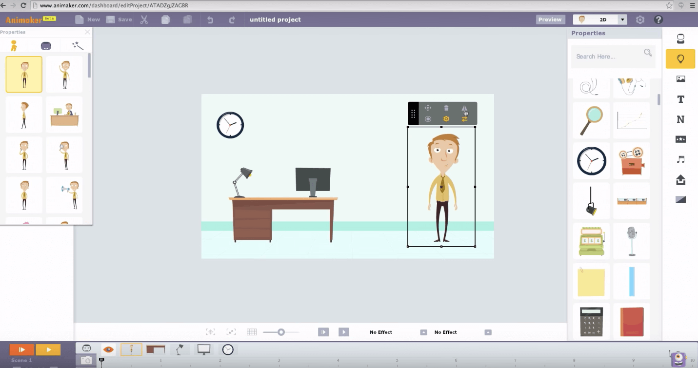Animaker Youtube content creation tools