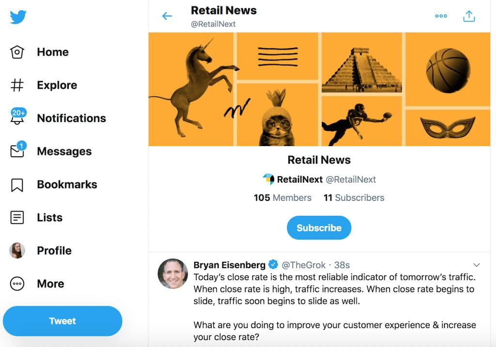 Industry Twitter list