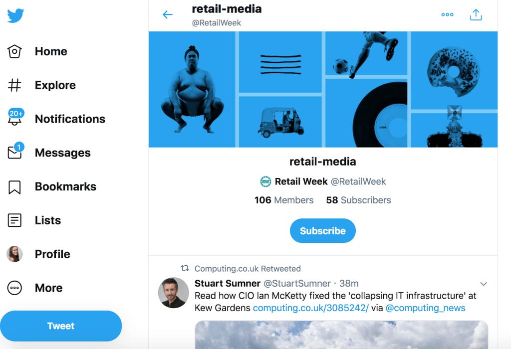 Inspiring Twitter lists
