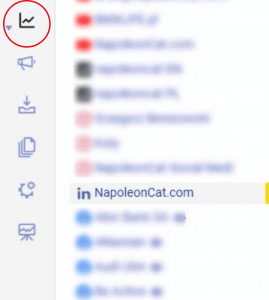 Analyze LinkedIn Page in NapoleonCat