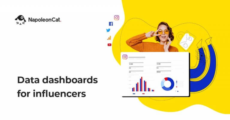New NapoleonCat Feature: Data Dashboards for Influencers