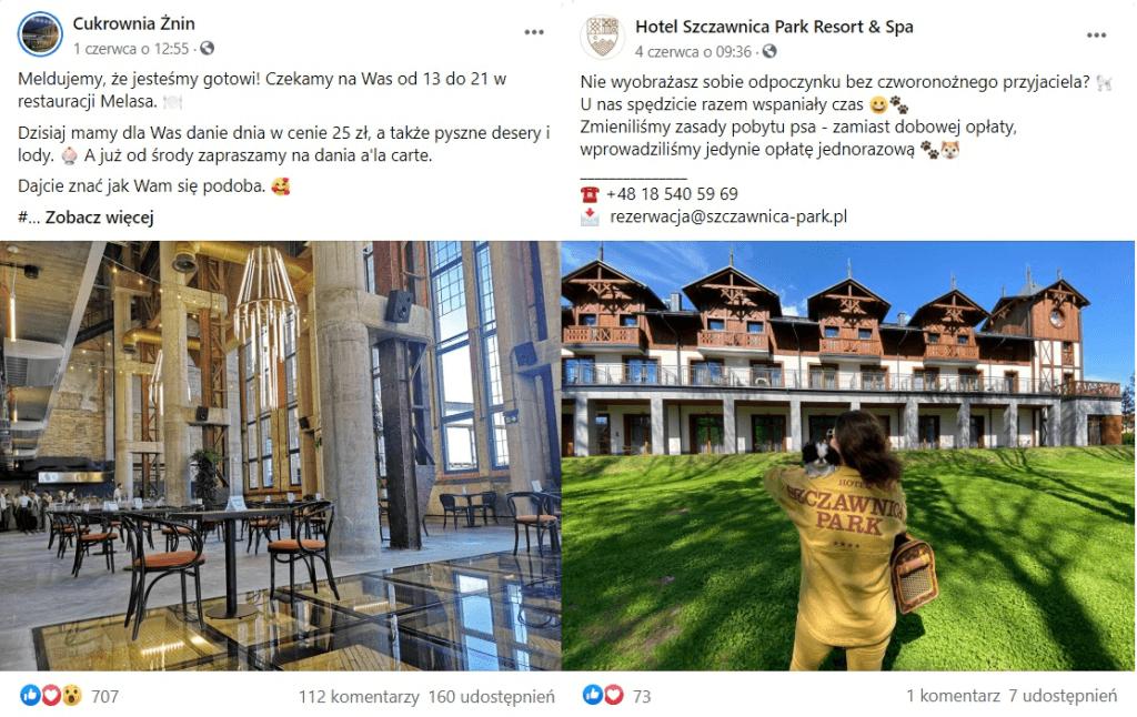 komunikacja w mediach społecznościowych dla branży hotelarskiej