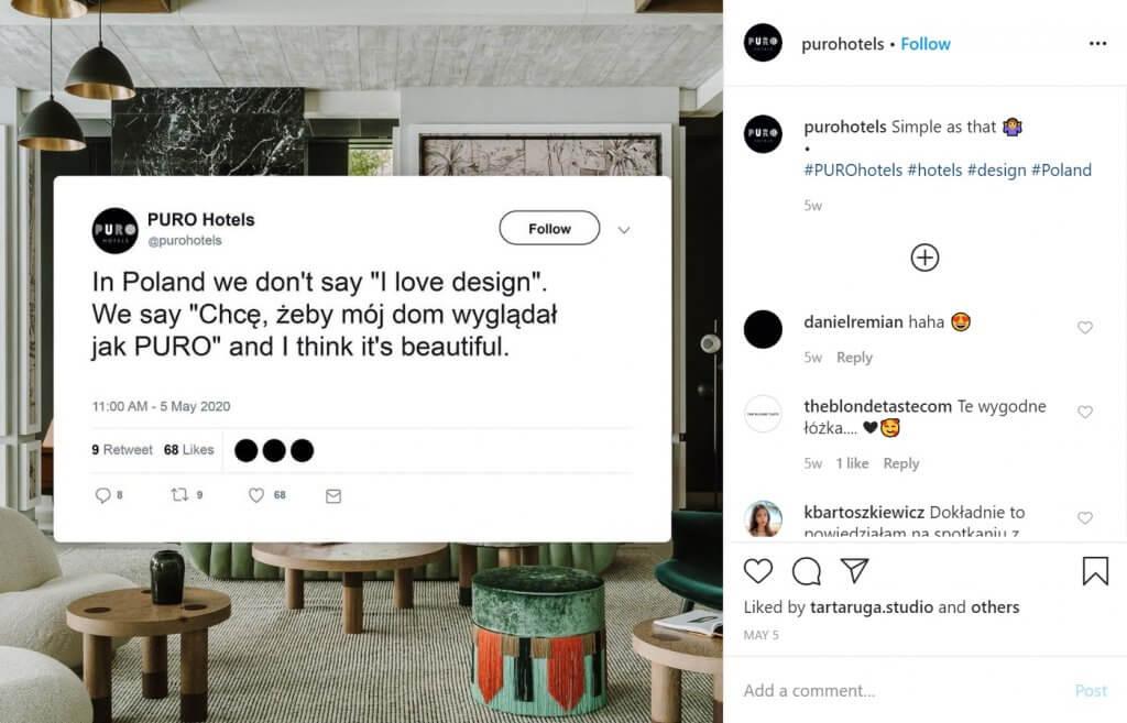 real-time marketing w branży hotelarskiej - PURO hotels
