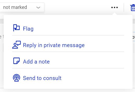 NapoleonCat Social Inbox actions