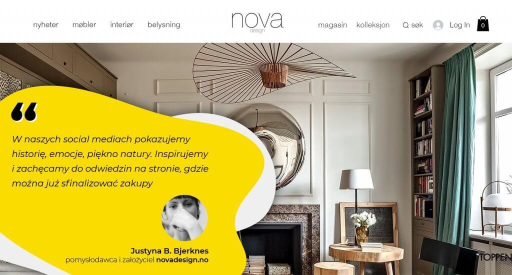 Strategia social media nova design
