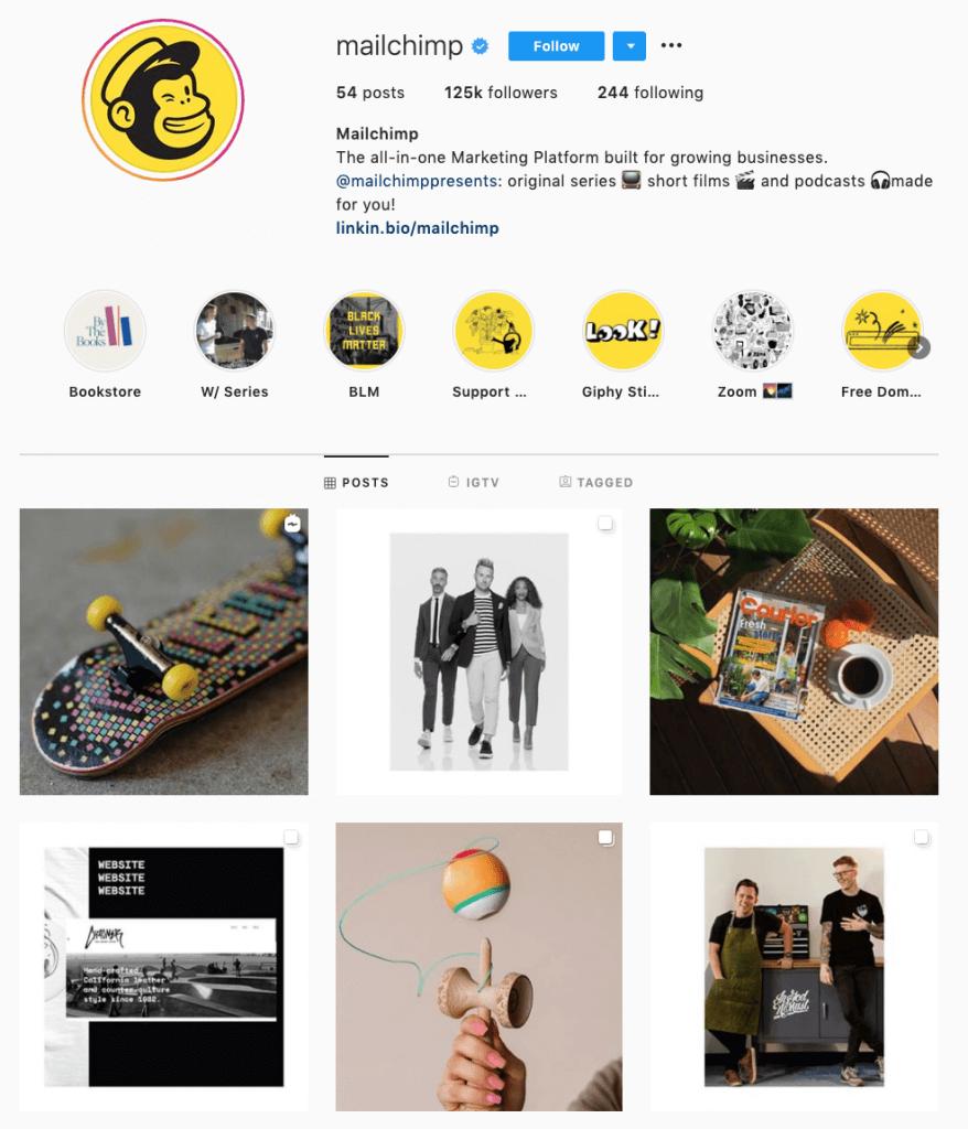 B2B marketing on Instagram