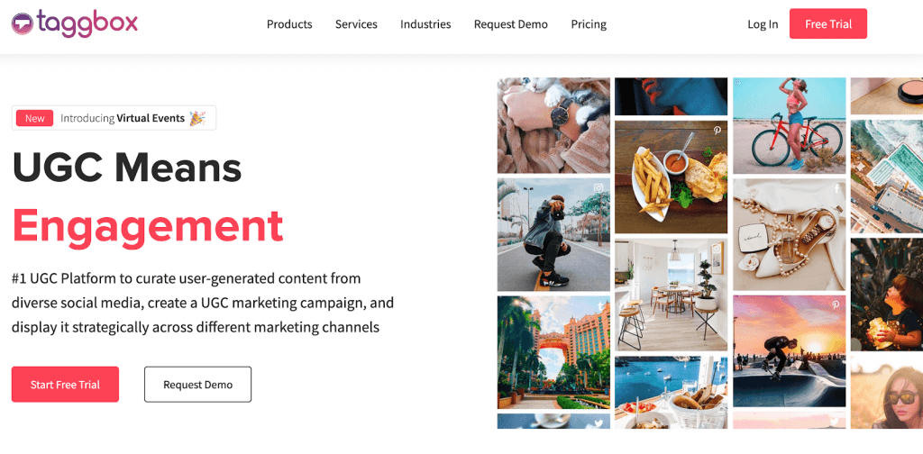 gather user-generated content
