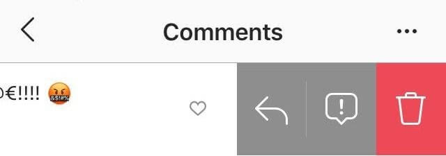 delete Instagram comments