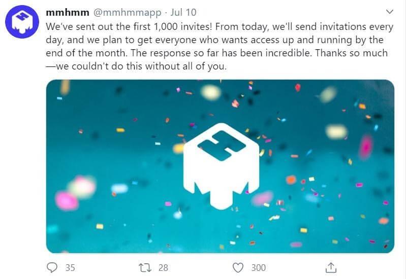mmhmm social media campaign