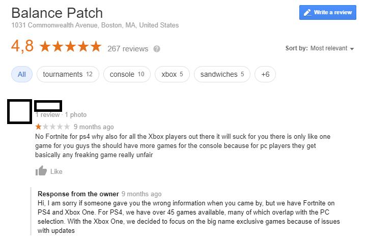 Respond to Google reviews