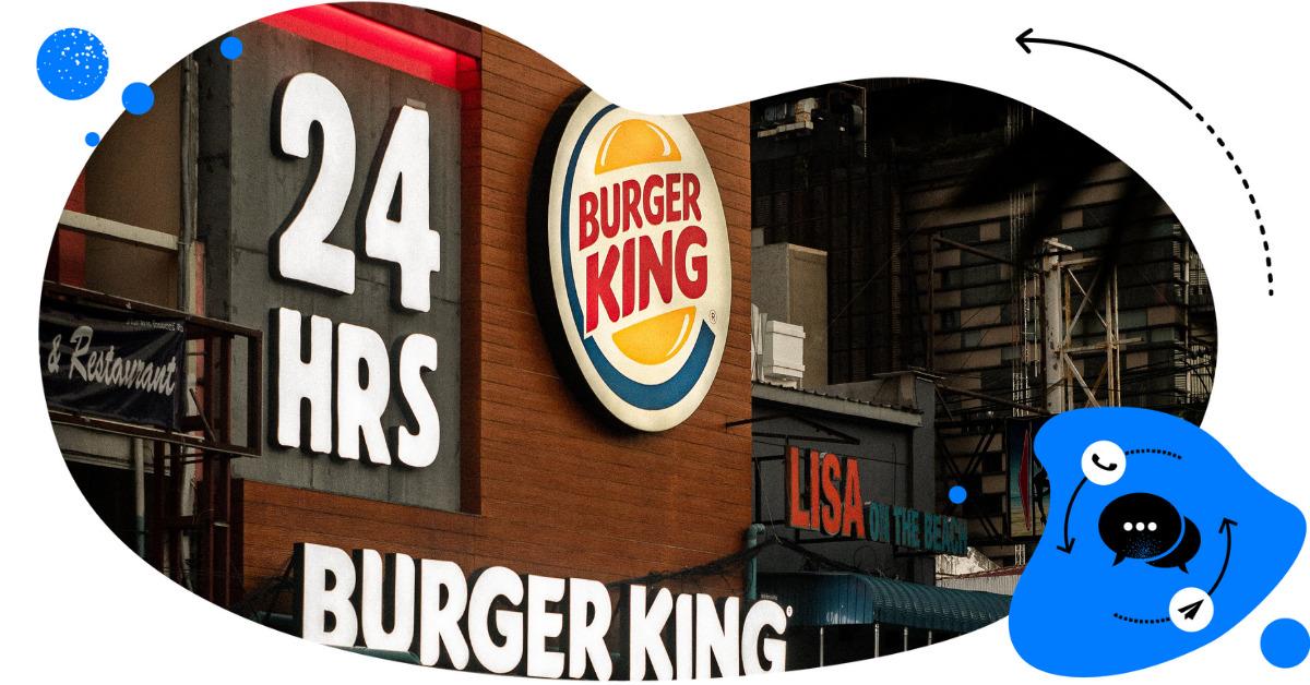 Moderacja komentarzy Burger King Polska