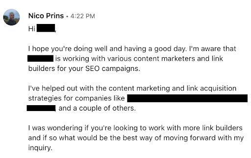 outreach LinkedIn