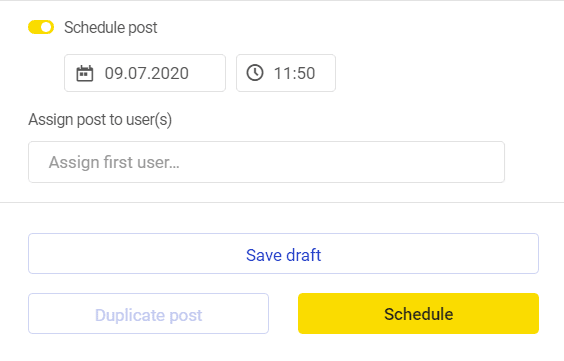Automate Instagram posts - scheduling a post