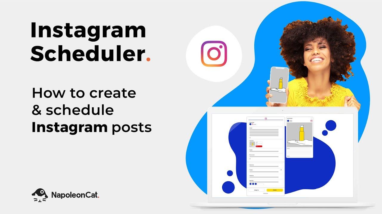 Instagram Scheduler - How to create & schedule posts with NapoleonCat