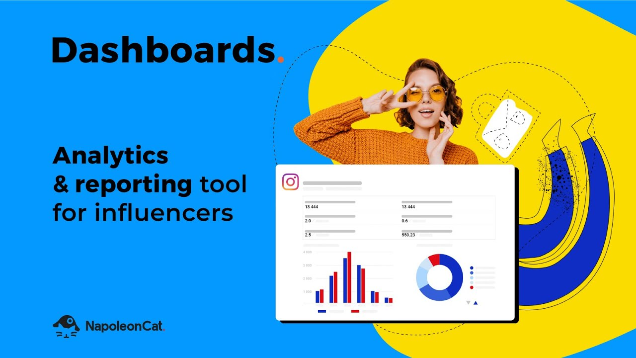 NapoleonCat's Dashboards - Analytics and reporting tool for influencers